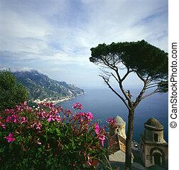 Ravello on Italian Coast