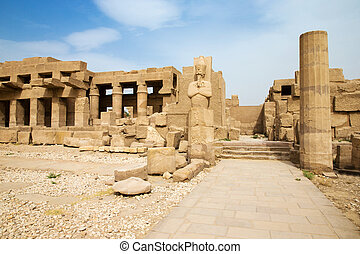 ancient egypt ruins - Luxor ancient egypt ruins