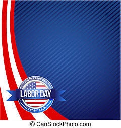 patriot day seal sign illustration design graphic background