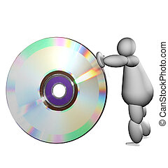 3D puppet with cd