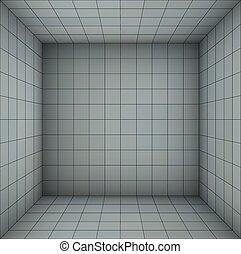 empty futuristic room blue gray - empty futuristic room with...
