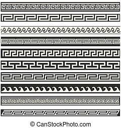 Old greek border designs