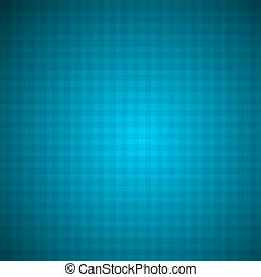 Tablecloth Blue Vector Background in Retro Style