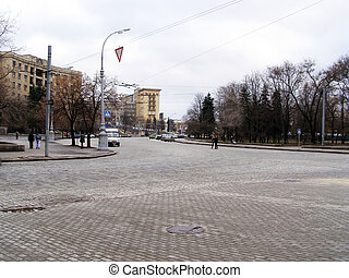 Freedom Square in Kharkov