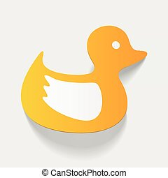 realistic design element: duck