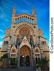 church of Sant Bartomeu in Soller - beautiful church of Sant...
