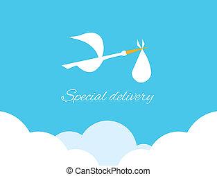Logo design element Special delivery - Logo design element...