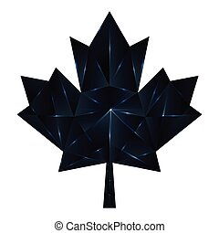 maple leaf - black diomond maple leaf