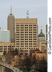 Indianapolis - Downtown - Downtown Indianapolis, Indiana...