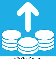 Payout Icon - Payout icon. Vector style is flat symbol,...