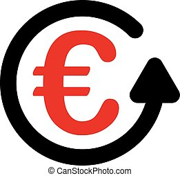 Chargeback icon - Chargeback icon Vector style is flat...