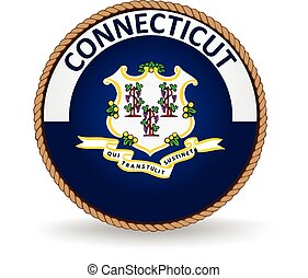 Connecticut State Seal - Seal of the American state of...