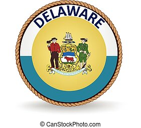 Delaware State Seal - Seal of the American state of Delaware...