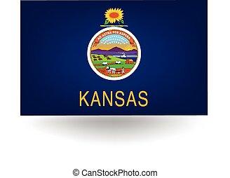 Official kansas flag