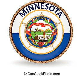 Minnesota State Seal - Seal of the American state of...