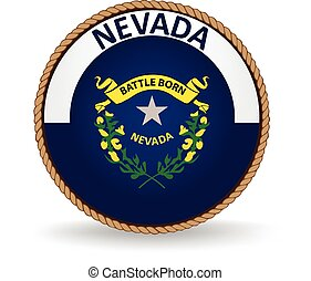 Nevada State Seal - Seal of the American state of Nevada