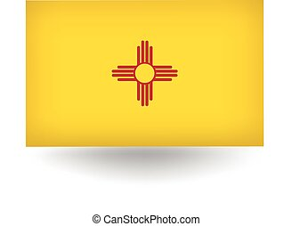 New Mexico State Flag - Official flag of the state of New...