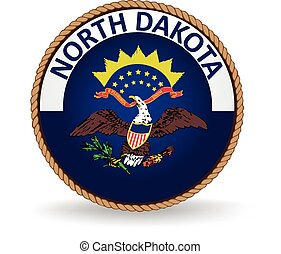 North Dakota State Seal - Seal of the American state of...