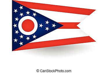 Ohio State Flag - Official flag of the state of Ohio