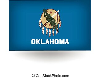Oklahoma State Flag - Official flag of the state of Oklahoma...