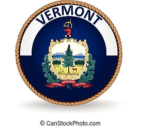 Vermont State Seal - Seal of the American state of Vermont