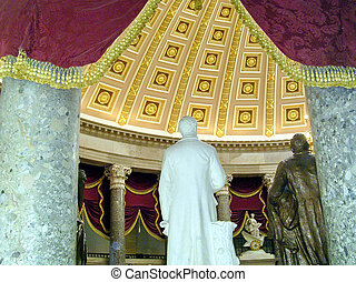 Washington Capitol the part of Statuary Hall 2004 - The part...