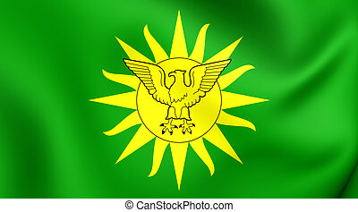 Imperial Standard of Bokassa I (1976-1979)