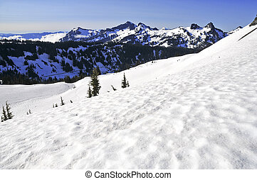 North Cascades Range, Washington - North Cascades Mountains...