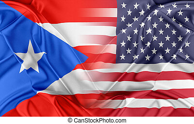 USA and Puerto Rico - Relations between two countries. USA...