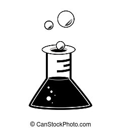 Laboratory Flask Icon - An image of a laboratory flask