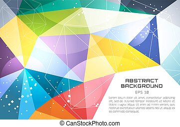Abstract background vector technology wallpaper - Abstract...