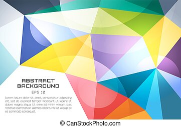 Abstract background vector technology wallpaper