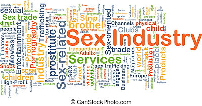 Sex industry background concept - Background concept...