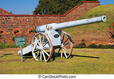 Boer fort - Anglo Boer war fort and canon