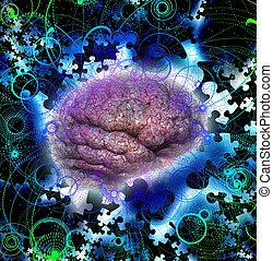 Brain Puzzle Radiate