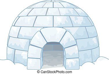 Igloo - Illustration of an igloo