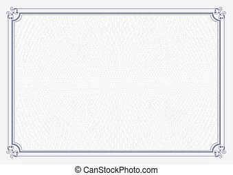 azul,  grunge, certificado, papel,  retro, fundo,  a4, tamanho