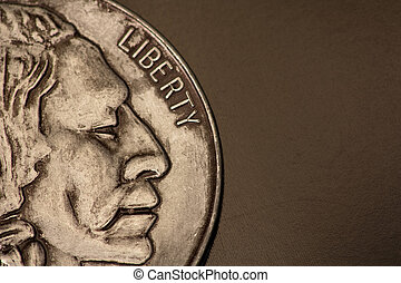 Indian Head close up - Indian head with liberty on the side...