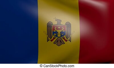 moldova strong wind flag