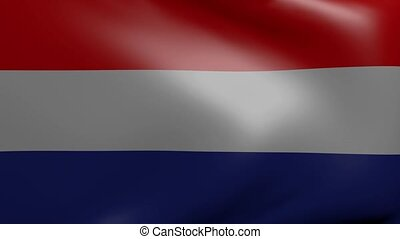 netherlands strong wind flag