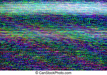 TV damage, television static noise - TV damage, bad sync TV...