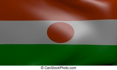 niger strong wind flag