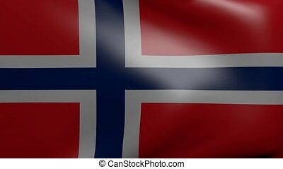 norway strong wind flag