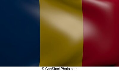romania strong wind flag