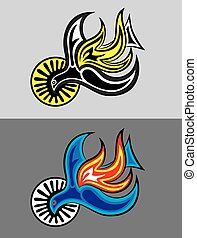Holy spirit, art vector design