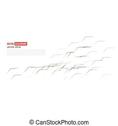 Vector Abstract geometric shape from gray diagonal romb....