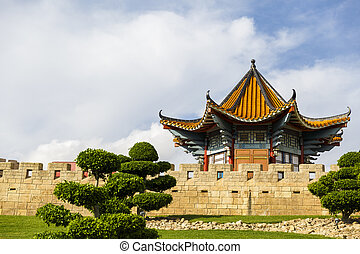 Beautiful houses with Chinese characteristics