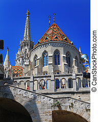 Matthias Church, - 13.06.2015. Matthias Church, one of the...