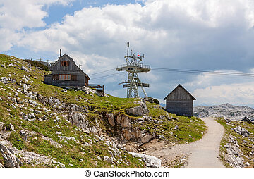 Dachstein - Lodge at the Dachstein near the ropeway