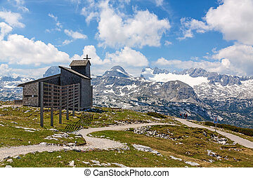 Dachstein-Krippenstein Chapel - Mountain Chapel at the...